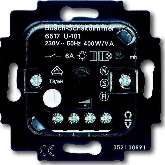 busch jaeger dimmer einsatz 6517 u 101. Black Bedroom Furniture Sets. Home Design Ideas