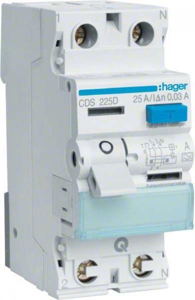 Hager FI-Schutzschalter CDS463D 4pol 63A 0,03A