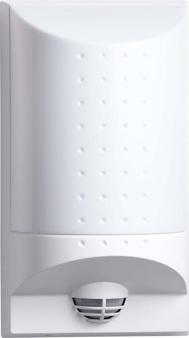 Steinel Leuchten L 650 LED - vandalensichere LED-Außenleuchte, weiß, 004033 ST