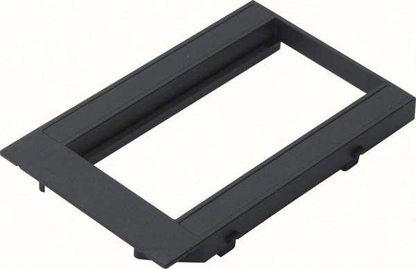 Abdeckplatte für 2 Geräte GBMBV34R2