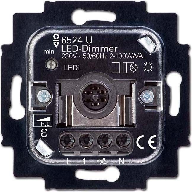 busch jaeger led dimmer 6526 u. Black Bedroom Furniture Sets. Home Design Ideas