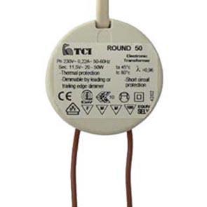 NV-Sicherheitstrafo 230V 11,8V 10-50W elektronisch