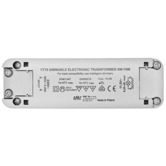 NV-Sicherheitstrafo elektronisch L118 B36,5 H29,5