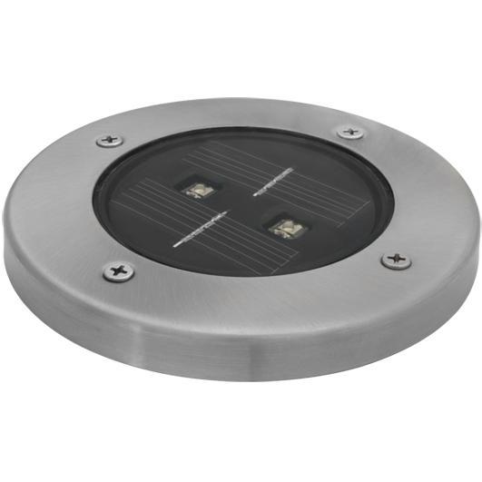 Solar-Erdeinbaustrahler 2 weiße LEDs