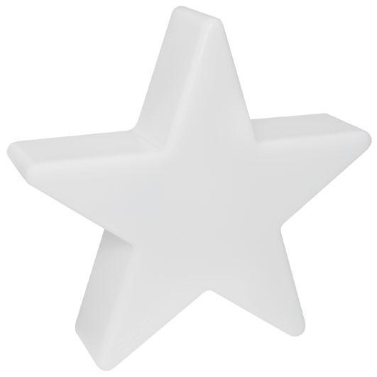 8 seasons design led dekoleuchte shining star 60cm weiss. Black Bedroom Furniture Sets. Home Design Ideas