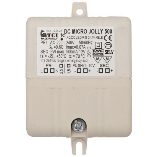 LED-Netzteil, 230V/12/24V-DC/6W/350mA, elektronisch